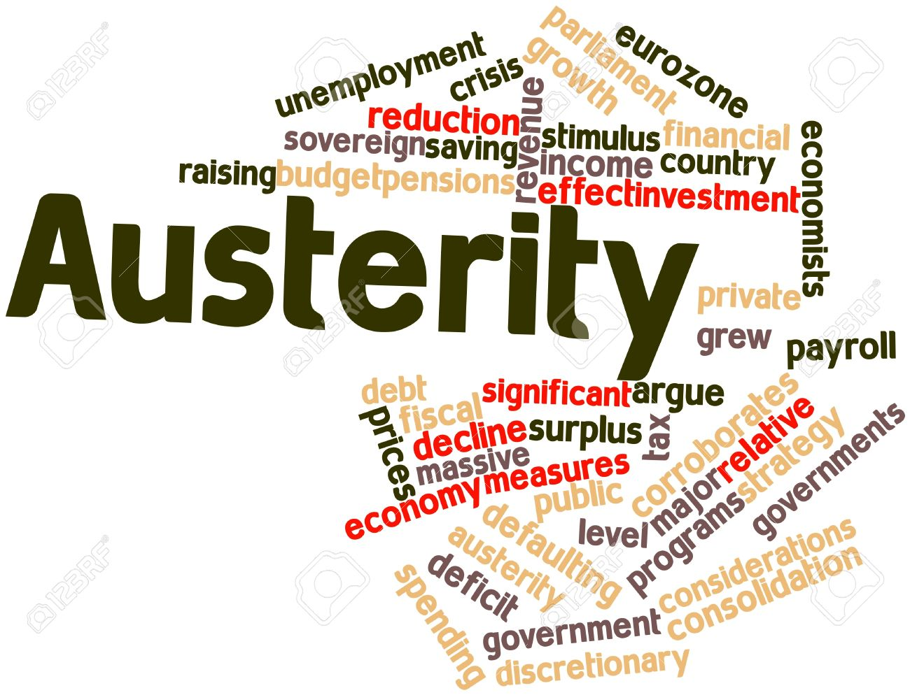 16445922-Abstract-word-cloud-for-Austerity-with-related-tags-and-terms-Stock-Photo